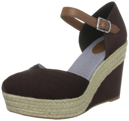 Toe Tommy Women's Closed Hilfiger Selina Brown 3 BwTwFqH