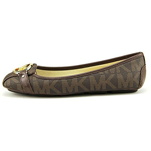 Michael Kors Flat Shoes (Michael Michael Kors Women's Fulton Moccasin (8, Brown 2))