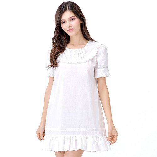 Verano dulce princesa pijama faldas de algodón/ atractiva/ pijama vestido/ fuerapijamas A