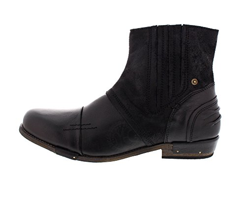 YELLOW CAB Boots CHOPPER 16006 - black Black