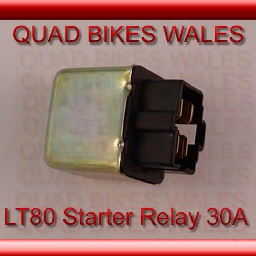 Suzuki LT80 Starter Relay 12V 30Amp Quad Quadmaxx