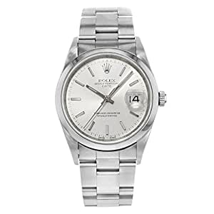 Rolex Date Automatic-self-Wind Male Watch 115200 (Certified Pre-Owned)