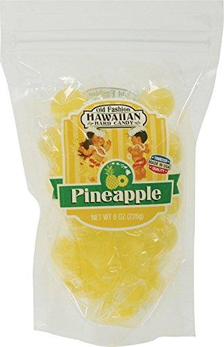 (Hawaiian Hard Candy Pineapple 8 oz. Bag)