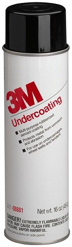 3M  08881 6 Pack 16 oz. UnderCoating, Black