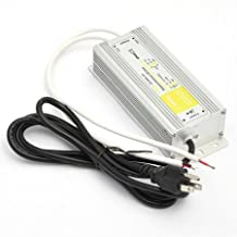 120 to 12 Volt Dc Output Waterproof LED 12 Volt Power Suppply Driver Transformer %100 Full Ampe (60w-3204)