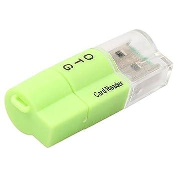 TOOGOO Adaptador Micro-USB OTG a USB 2.0 Lector de Tarjeta ...