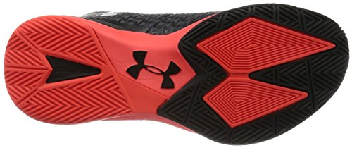 Under Armour ClutchFit Drive 3 Basketball Shoes Black/Red zbfjxhs