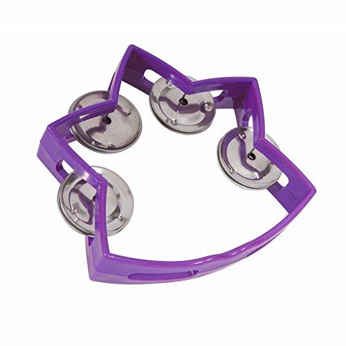 Westco Small Star Tambourine with 4 Jingles - Purple]()