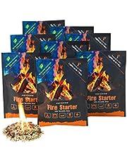 انستافاير حبيبته بدء النار ، طبيعية بالكامل ، صديقة للبيئة ، تضيء الحرائق في أي طقس - 4 حرائق لكل كيس ، حازت على جائزة بادئ النار لعام 2017 من السنة