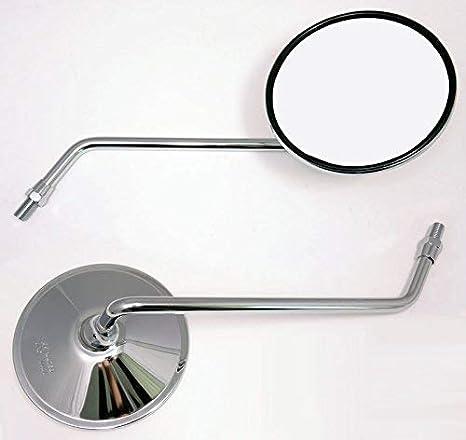 2x R/étroviseur Miroir convient pour Suzuki TS 125 250 DR 400 TTS 185 GS 450 550 750 1000