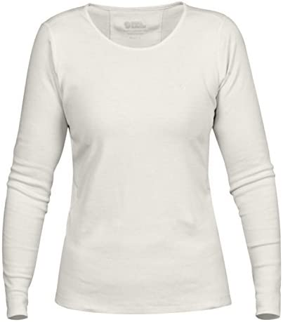 FJALLRAVEN Övik Long Sleeve Top W – Women's T-Shirt, Womens, Khaki, L