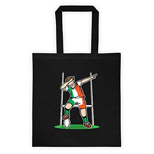 Dabbing Ireland Rugby Player | 2019 Fans Kit for Irish Supporters, Tote bag