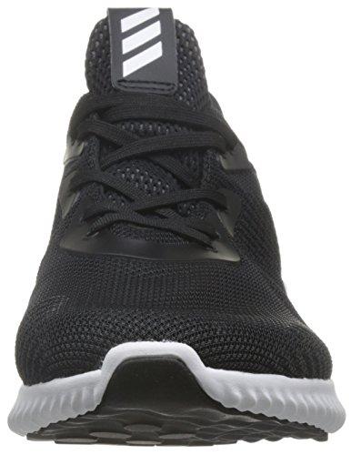 adidas Mens Alphabounce 1 M, Black/White Black/White