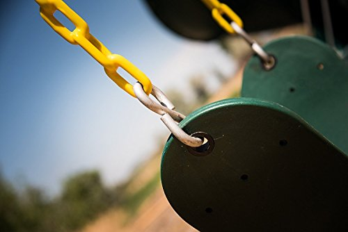 High Back Full Bucket Swing and Heavy Duty Swing Seat - Swing Set Accessories by Squirrel Products (Image #7)