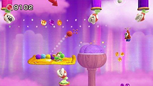 Yoshi Woolly World Bundle Green Yarn Yoshi amiibo - Wii U (Japanese version) by nintendo (Image #12)