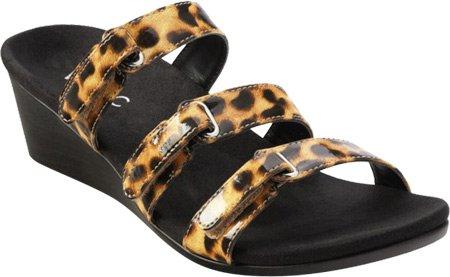 Vionic Mujer dwyn Sandalias Leopard