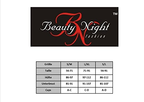 Beauty Night Fashion - Camisón - para mujer negro