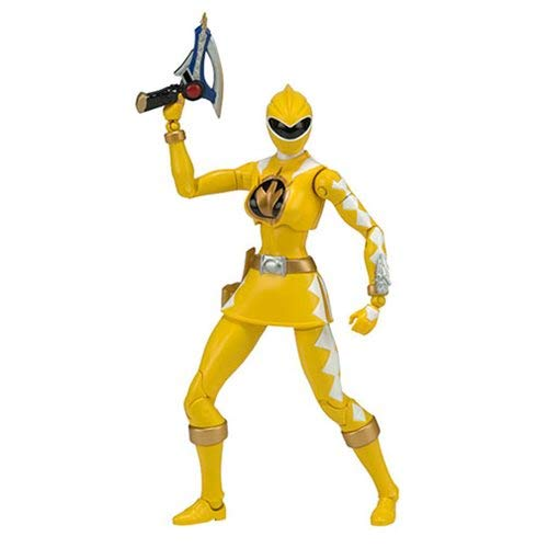 Power Rangers Ranger Dino Thunder - Power Rangers Dino Thunder Legacy Yellow Ranger Action Figure