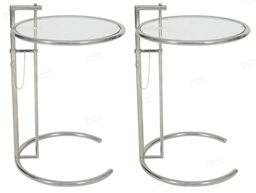 Eileen Gray End Table (Set of 2)