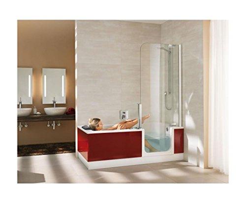 Artweger Twinline 2 Badewanne und Dusche mit Türe mit Glasfront ... | {Duschbadewanne twinline 25}