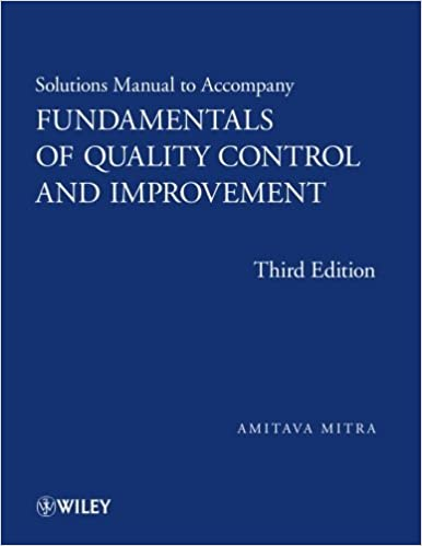 Solutions manual to accompany fundamentals of quality control and solutions manual to accompany fundamentals of quality control and improvement 3rd edition fandeluxe Choice Image