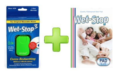 Wet Stop3 Kit Bedwetting Enuresis Waterproof product image