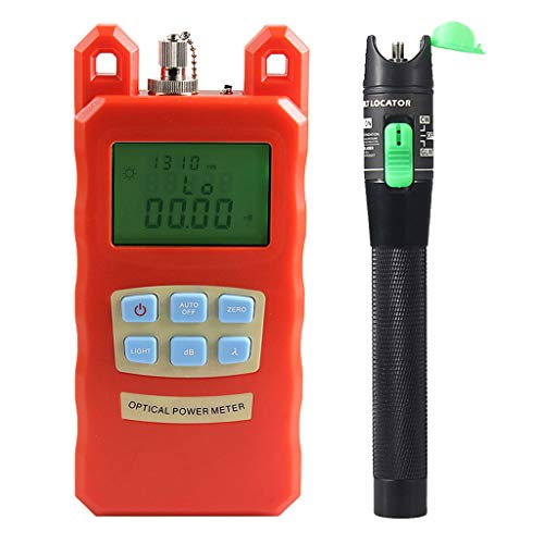 Baosity Pack Fiber Optic Cable Tester Optical Power Meter with Sc & Fc Connector Fiber Tester +20mW Visual Fault Locator for CATV Test,CCTV Test by Baosity (Image #3)