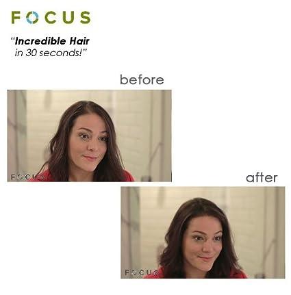 Focus Pure Organic Keratin Hair Building Fibers/hair Loss Concealer, 18 Grams/0.63 Oz. Per Bottle (55 Days Supply). (Dark Brown) Focus Beauty and Health