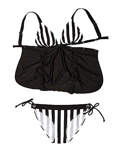 D Dimensioni Set Amour Tankini Donna sw Bikini B 0145 Pa Agnes A Push Cup Petit xwCPqg0nw