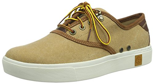 Manchester cheap online purchase sale online Timberland Men's Amherst Canvas Oxford Shoes Brown buy cheap best seller store professional cheap price 0fmOJ