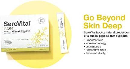 SeroVital Rapid Dissolve Powder, 30 Ct, Tropical Mix 5
