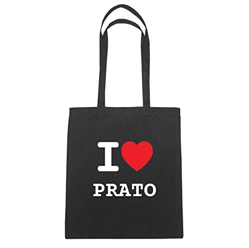 Schwarz Hände Natur Prato I Love B3488 Coton Ich Herz En Liebe Jollify Sac fAXq8XY