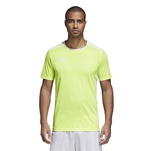 Entrada Adidas 18 Uomo Yellow shirt T Solar white ZqqcdrP