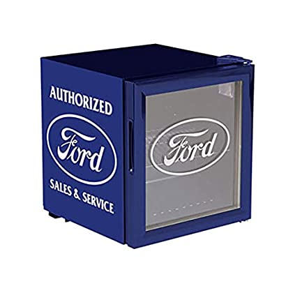 Image of Home and Kitchen Classic Ford Beverage Cooler, Blue