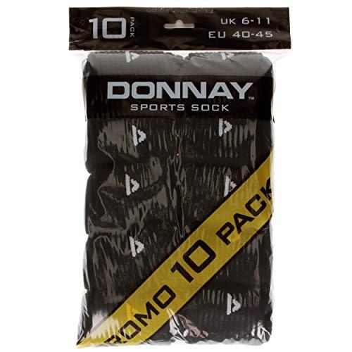 10 Noir Donnay En 45 Éponge Coton Paires Chaussettes Pour Sport De Excellente Taille Hommes Unique Qualité 40 aUwqTdUxr
