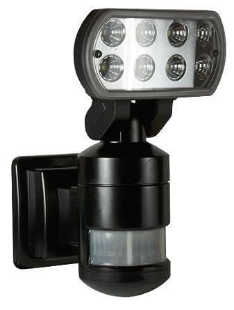 Nightwatcher Nw500 Led Robotic Security Light Black