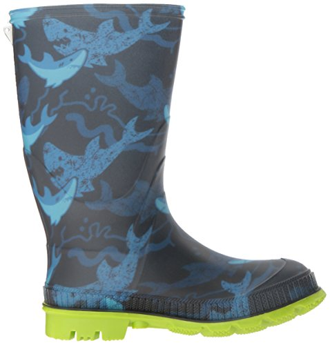 Kamik Boys' STOMP2/KIDS/CHA/4725 Rain Boot, Blue, 4 M US Big Kid by Kamik (Image #7)