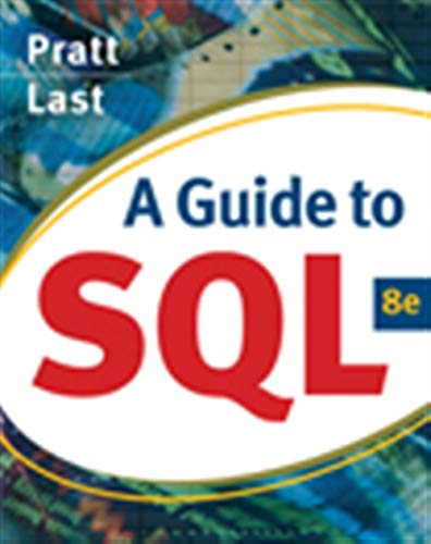 A Guide to SQL (Available Titles Skills Assessment...
