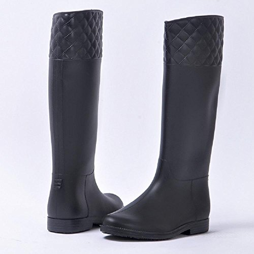 de Botas JIU black Ms Moda Lluvia xZww1at6