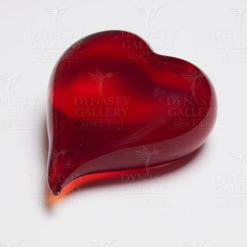 Dynasty Gallery Red Double Sided Red Heart Paperweight