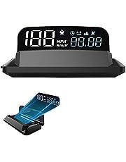 KAOLALI Uniwersalny automatyczny prędkościomierz KMH/KPM lustro G3 GPS HUD wyświetlacz głowy projektor prędkości samochodu uniwersalny do wszystkich samochodów