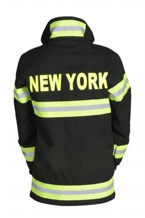Aeromax Adult Fire Fighter New York Suit, Large, Multicolor