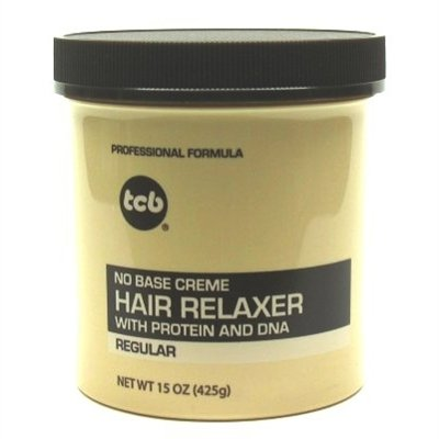 - Tcb No Base Creme Hair Relaxer Regular 15oz. Jar