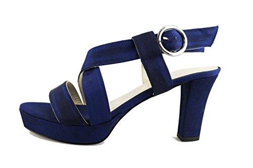 UMBERTO LUCIANI Sandalias mujer Azul Textil AG452