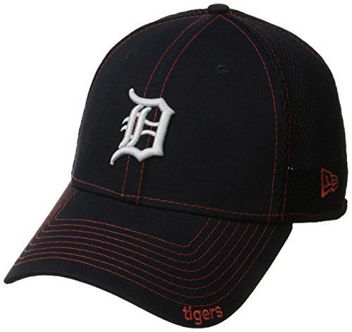 (MLB Detroit Tigers NEO 39Thirty Stretch Fit Cap, Large/X-Large,)