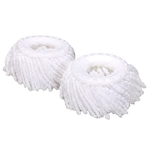 Lot of 2 Replacement Mop Micro Head Refill Hurricane (Pro 360 Clean)- 2 Pack by Everyday Big Deals