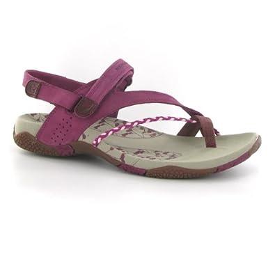 4a96bbee0a26 Merrell Siena Raspberry Suede Womens Sandals Size 8 UK  Amazon.co.uk ...