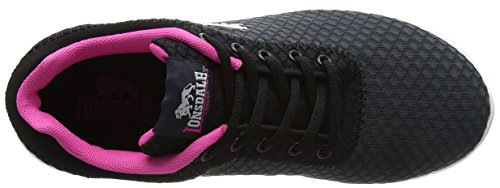 Lonsdale Chaussures Tydro Femme Gris Pink Outdoor Multisport Black Charcoal nRH51Tn