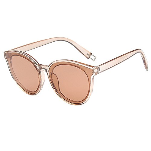 HUAYI Women's UV400 Large Frame Outdoor Retro Trend - Trend Sunglass