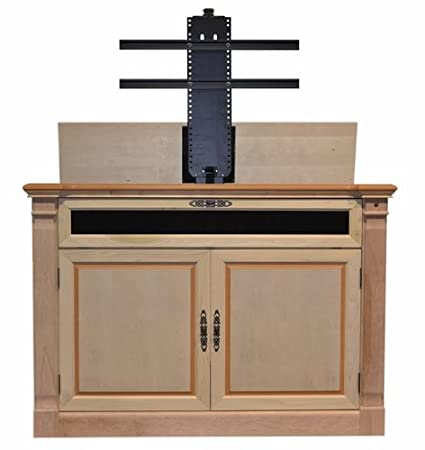 Touchstone 70152   Adonzo TV Lift Cabinet (Unfinished)   Up To 60 Inch TVs